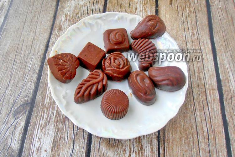 Фото Шоколадные конфеты из кокосовой муки