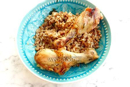Фото рецепта Курица в микроволновке в пакете