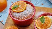 Фото рецепта Английский лимонно-апельсиновый пудинг