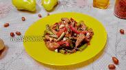 Фото рецепта Свинина со стручковой фасолью по-азиатски