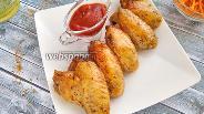 Фото рецепта Острые куриные крылышки с мёдом