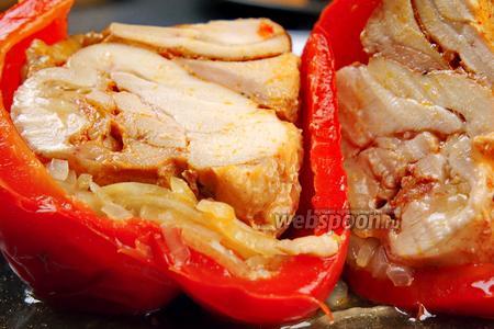 Болгарский перец на ужин. Видео видео рецепт
