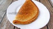 Фото рецепта Яичная лепёшка на сметане