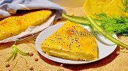 Фото рецепта Закрытый трижды сырный пирог