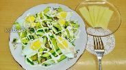 Фото рецепта Салат «Пикантный» из баклажанов и огурцов