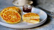 Фото рецепта Сырники на рисовой муке с цедрой лимона