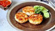 Фото рецепта Нежные котлеты из грудки с кабачком