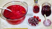 Фото рецепта Суп красный овощной с кислинкой