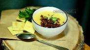 Фото рецепта Гороховое пюре с жареным луком