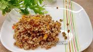 Фото рецепта Гречка с овощами на сковороде