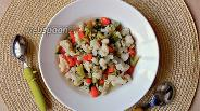 Фото рецепта Детский суп с цветной капустой, брокколи и макаронами