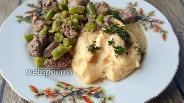 Фото рецепта Пюре из яиц скрэмбл