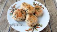 Фото рецепта Куриные котлеты со сливочным маслом и миндальной мукой