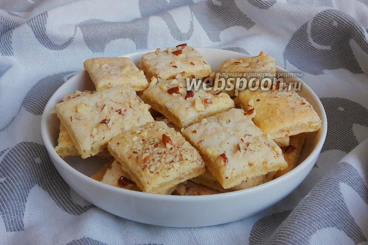 Фото Творожное печенье с миндалём
