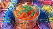 Фото рецепта Тёплый овощной салат с уксусной заправкой