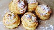 Фото рецепта Заварное тесто на растительном масле для эклеров и профитролей