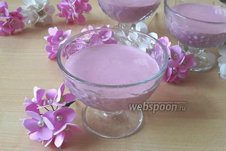 Фото рецепта Кето-десерт с творогом, малиной и цедрой лимона