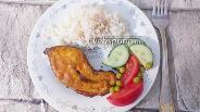 Фото рецепта Стейк из горбуши в яичном маринаде