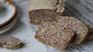 Фото рецепта Хлеб из зелёной гречки