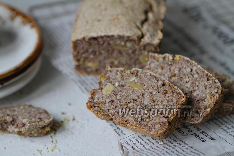 Фото Хлеб из зелёной гречки