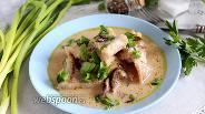 Фото рецепта Минтай в грибном соусе