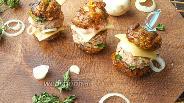 Фото рецепта Закусочные бургеры из шампиньонов