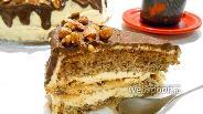Фото рецепта Ореховый торт «Киев»