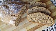 Фото рецепта Пшенично-ржаной бездрожжевой хлеб в хлебопечке