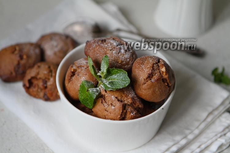 Фото Простое шоколадное печенье на кокосовом масле