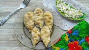 Фото рецепта Курзе с творогом, луком и помидорами