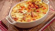 Фото рецепта Домашняя запеканка с курицей и тыквой