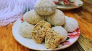 Фото рецепта Ореховое печенье с маком