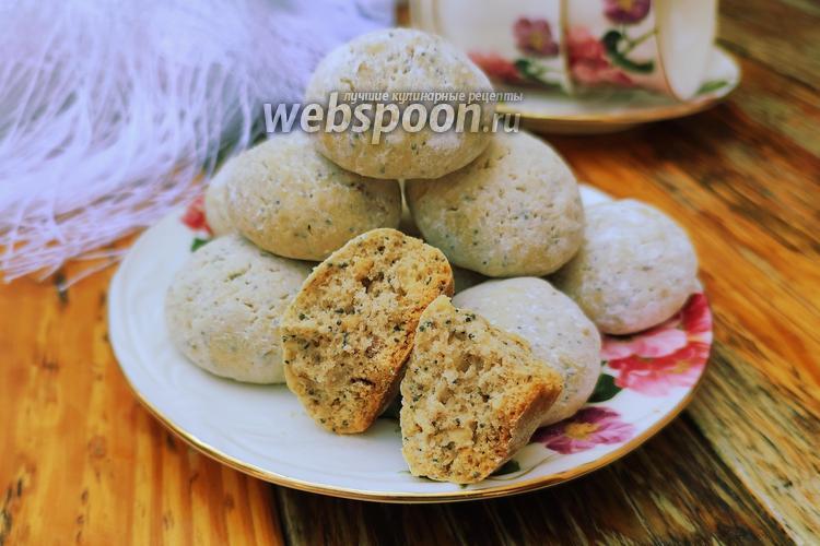 Фото Ореховое печенье с маком