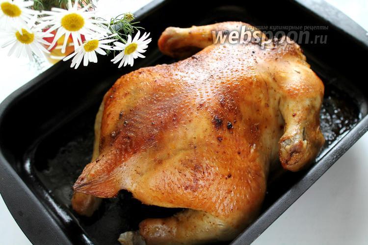 Фото Курица в пряном маринаде в духовке