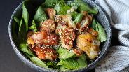 Фото рецепта Куриное филе в луковом кляре