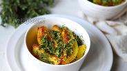 Фото рецепта Картофель с лимонным песто