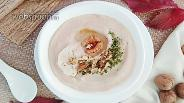 Фото рецепта Пюре из цветной капусты с грецкими орехами