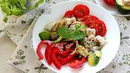 Фото рецепта Боул с курицей и авокадо