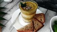 Фото рецепта Кукурузная каша с овощным кремом в стакане