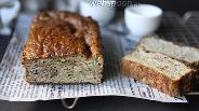 Фото рецепта Кекс из кабачков на льняной муке