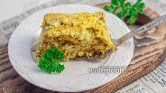 Фото рецепта Запеканка из молодой капусты с творогом