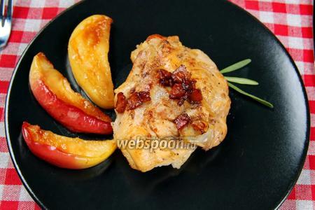Курица в яблочном сидре. Видео видео