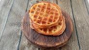 Фото рецепта Вафли без муки из яиц и моцареллы
