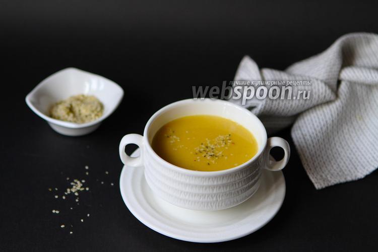 Фото Чечевичный суп на костном бульоне
