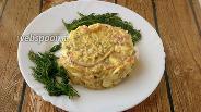 Фото рецепта Салат из авокадо, яиц  и запечённого бекона