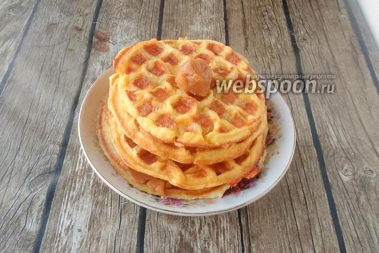 Фото Кето карамель для вафель