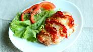 Фото рецепта Сочная куриная грудка с перцем и моцареллой в духовке