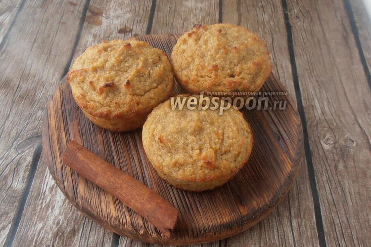 Фото Кето кексы из тыквы и кокосовой муки