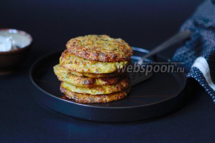 Фото Кето оладьи из цветной капусты с сыром
