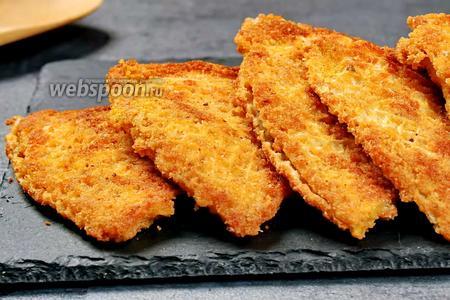 Рыба с вафельными коржами. Видео видео рецепт